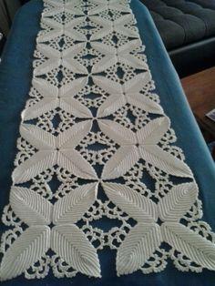Wild Rose Garden pattern by Máire Treanor Crochet Earrings Pattern, Crochet Doily Patterns, Granny Square Crochet Pattern, Crochet Borders, Crochet Doilies, Hand Crochet, Crochet Lace, Fillet Crochet, Point Lace