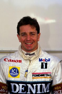 Martin Brundle (GB) - 1984-1996 - Tyrrell, Zakspeed, Williams, Brabham, Benetton, Ligier, McLaren and Jordan