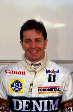 Martin Brundle (GB) - 1984-1996 - Tyrrell, Zakspeed, Williams, Brabham, Benetton, Ligier, McLaren and Jordan