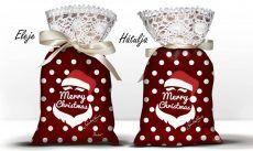 Karácsonyi álom zsák levendulával, Santa Claus