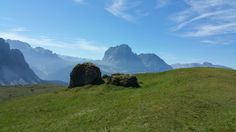 A great view towards Sassolungo from Pieralongia (Col Raiser)  www.valgardena.it