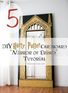 DIY Harry Potter Mirror of Erised Tutorial