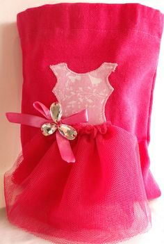 Handmade party favour bags from Miss Cherryblossom Australia