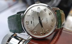 Jaquet-Droz Calibre AS1950/51 Stainless Steel Gents Vintage Watch…