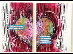 ART JOURNAL PAGE | THE END | Nika In Wonderland Art Journaling and Mixed Media Tutorials