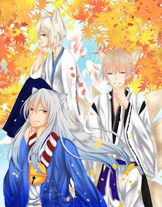 Kokkuri-san (Gugure! Kokkuri-san) I Miketsukami Soushi (Inu x Boku SS) I Tomoe (Kamisama Hajimemashita)