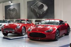 Aston Martin DB4GT Zagato & V12 Zagato. I'll take one of each, please!