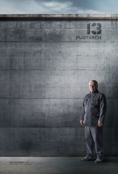 This is larger than a game. Plutarch Heavensbee, rebel of District 13. #OurLeaderTheMockingjay