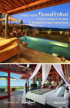 Win a Romantic Bali Vacation