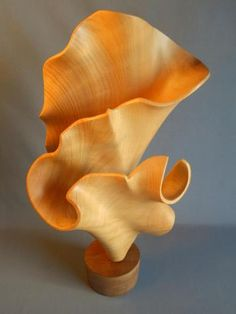 """Oceanis"" by John McAbery Wood Sculptures"