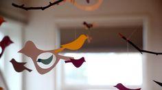 DIY Project: Bird Mobile:
