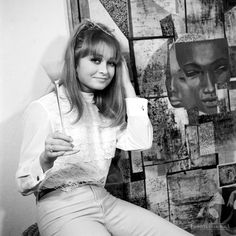 Magdalena Zawadzka w obiektywie Jerzego Troszczyńskiego, 1967.
