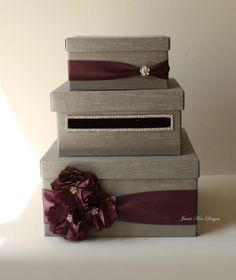 Wedding Card Box  ---  just the idea of it, not this actual style