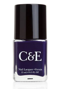Crabtree & Evelyn New Nail Polishes - Eggplant, seems healthy Available at Memento Gift Shop, Palm Springs, 760-325-1963