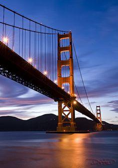 Golden Gate Bridge - San Francisco, California from Fort Point [Explored] by DiGitALGoLD, via Flickr