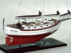Billedresultat for hans christian sailboat Sailing Kayak, Sailing Ships, Hans Christian, Trawler Yacht, Rc Boot, Model Sailboats, Sailboat Interior, Classic Sailing, Wooden Boat Building