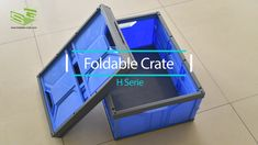SHG plastic folding crate New series - H series has been developed and manufactured! Basic info listed here for your reference: Size: 540*370*260 mm Size after folding: 540*370*5 mm Volume: 45 L Material: PP Weight: 1.03 kg It could meet any demand of you as the various application. More info, welcome to contact us now. www.foldable-crate.com Email: sino-mould@hotmail.com Whatsapp: +86 158-5868-5625