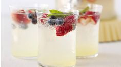 Fruity, festive and fun to share, these drinks add a refreshing element to grill-focused feasts.