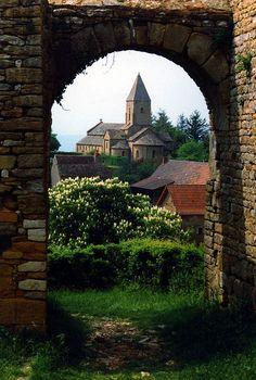 La chapelle sous Brancion, Burgundy, France