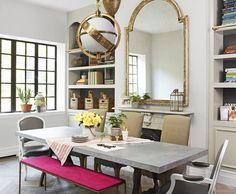 Genevieve Gorder's Apartment in New York - Dining Room