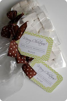honey vanilla gift tags and recipe More