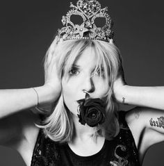 Courtney Love, the former grunge queen on beauty, aging, and turning over a new leaf.