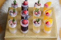 Sparkling Jello Push Pops - with or without alcohol.