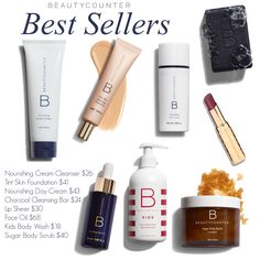 Best selling products from Beautycounter, a line of safer personal care products. Safe for pregnancy and breastfeeding. High performing and result producing!  Shop here: www.beautycounter.com/kristypeterka Join here to learn more: www.facebook.com/groups/beautycounterbykristy