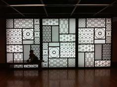 Door Art--Sejong Cultural Center in Seoul Korea
