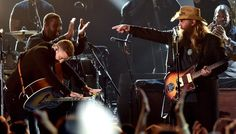 awesome Chris Stapleton and Justin Timberlake take the diploma on the CMA Awards