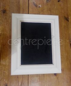 Chalkboard Sign White Fr Plain H:28cm Chalkboard Signs, Centerpieces, Center Pieces, Table Centerpieces, Centre Pieces, Centerpiece Ideas