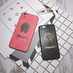 G-Dragon同型のクロムハーツiphone7/iphone7sケースです。高品質なレザー製ので手触りが心地よい、パイソン柄の触感も独特、ブラックとピンク二色あるの大人気iphone7/iphone7sカップルケースです! Chrome Hearts, Iphone Cases, G Dragon, Iphone Case, I Phone Cases