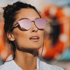 Round Lens Sunglasses, Flat Top Sunglasses, Trending Sunglasses, Stylish Sunglasses, Mirrored Sunglasses, Sunglasses Women, Summer Sunglasses, Sunglasses Storage, Vintage Sunglasses