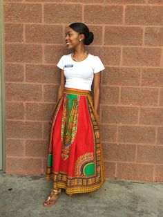 Excited to share this item from my shop: African Print Maxi Skirt-African skirt for women-Ankara skirt-Dashiki Skirt-Maxi-African clothing for women- African Print Dresses, African Fashion Dresses, African Skirt, African Prints, African Outfits, African Clothes, Ankara Fashion, Women's Fashion, Africa Fashion