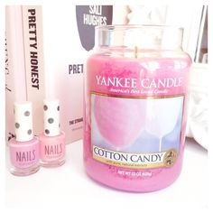 Favourite Yankee Candle Cotton Candy lovecatherine.co.uk Instagram catherine.mw xo