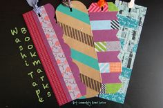 Hot Commodity Home Decor: Washi Tape Bookmarks