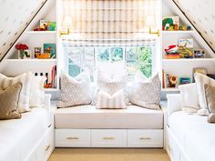 See a Small Attic Transformed Into a Kid's Hideaway