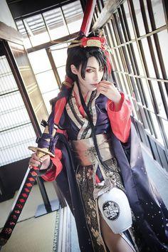 AN JiroTachi COSPLAY FROM ToukenRanbu BY 竜★ (RiuuGaruda)