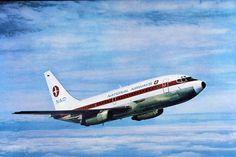 National Airways, Boeing 737-200, 1970's