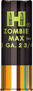 "Hornady 86247 Zombie Max Z-Max 12ga 2.75"" 8 Pellets 00 Buckshot 10 Box/10 Case  Tackleberrys  www.tackleberrys.com www.thehuntingagency.com"