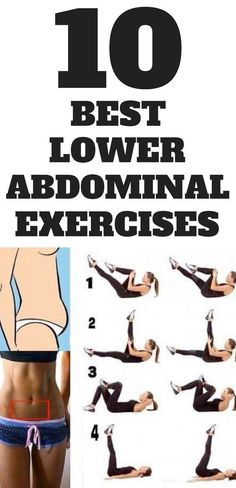 10 best lower ab exercises ever...