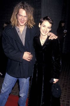 Winona Ryder with Dave Pirner of Soul Asylum.