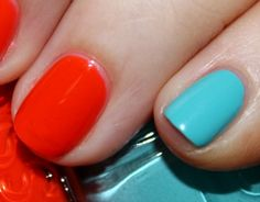 Essie In The Cab-Ana and Saturday Disco Fever Nail Polish