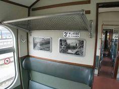 interieur van een treincoupe