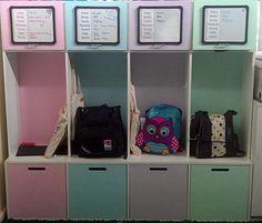 Trendy kids school bag storage entry ways ideas