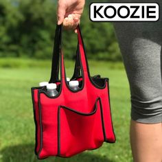 FREE - Neoprene 6 Pack Holder by Koozie - Great for keeping beer, water.... beer cold and handy! - http://freebiefresh.com/free-neoprene-6-pack-holder-by-koozie-great-for-keeping-beer-water-beer-cold-and-handy/