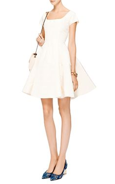 Silk-Faille A-Line Dress by Zac Posen - Moda Operandi