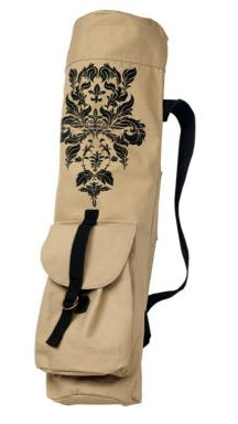 Carry your yoga mat in style! The mat matches the bag!