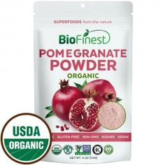 Pomegranate Juice Powder - 100% Pure Freeze-Dried Antioxidants Superfood - Boost Digestion Skin Care
