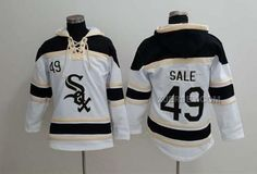 http://www.xjersey.com/white-sox-49-chris-sale-white-all-stitched-hooded-sweatshirt.html WHITE SOX 49 CHRIS SALE WHITE ALL STITCHED HOODED SWEATSHIRT Only $53.00 , Free Shipping!